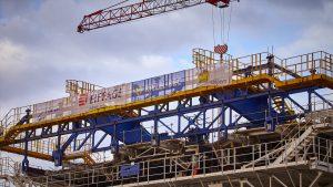 Construction 4 voies St denis de la Réunion